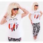 K530 Bawełniany T-Shirt Women, Top, Free Spirit