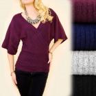 A1979 Loose Kimono Sweater, Umschlagausschnitt, Wo