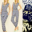 C17111 Fashionable, Summer Jumpsuit, Happy Elephan