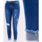 B16748 Women Jeans, Skinny Pants, Holes