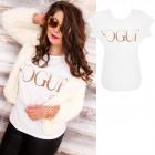 K600 Cotton Blouse, Plus Size, Golden Vogue