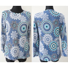 Patterned Blouse Plus Size L-4XL 5668