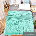 Blancket, Fluffy Plaid, Bed Coverlet 160x200, Z031