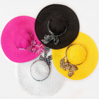 A1275 Big Beach Hats, Summer, Mix Patterns