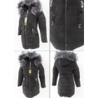 E16 Winter Women Jacket, Pendants, Black