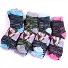 Womens Socks, cotton , Melange, 35-42, 4978