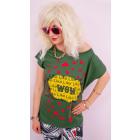 K523 Cotton Shirt for Women, Top, Like WoW