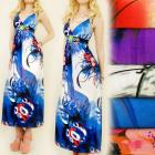 C1740 WONDERFUL DRESS, ENVELOPE NECKLINE, STONE