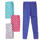4457 Leggins for Girl 104-152, Polka Dots