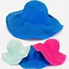 A1274 bonnet femme à larges bords, couleurs juteus