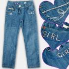 A19206 Jeanshosen Mädchen, 6-14 Jahre