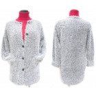 Fluffy Women Christmas Cardigan, Coat, M-2XL, 5146