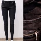 B16847 Jeans pants, Trendy Black, Sliders
