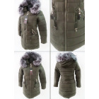 E17 Winter Women Jacket, Pendants, Khaki