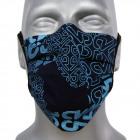 masque de protection, bleu, D5808