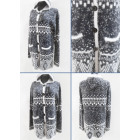 K62 Aztec Cardigan, Womens Hooded Sweater