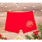 SOF02 Christmas Mens Boxer Shorts, M-2XL, cotton