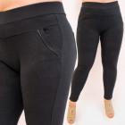 SOF46 Pantalon élégant, grandes tailles, taille ha