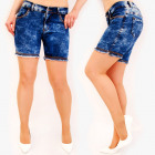 A892 Women Shorts Jeans, Marbles, Shorts