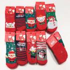 Weihnachtsbabysocken, Baumwolle 0-24 5745