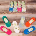4561 Bamboo Socks, Foots, Bee Pattern, 36-41