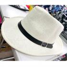 Men summer hat with brim MIX 6553