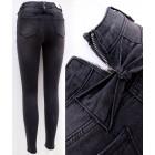 B16803 Damen Jeans, Hosen, Slider und Bögen, Schwa