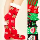4153 Warme Socken, ABS-Fellpantoffeln, Winter