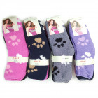 Frauen flauschige Socken, Hundefüße, 36-41, 5776