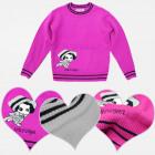 A19161 Girls Sweater, Little Angel, 1-5 years