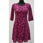 B268, DRESS WOMEN'S FLOWERS, LACE MIX