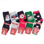 Women socks, cotton , Christmas, 35-41, 5779