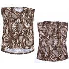 Cotton Ladies Shirt, 2XL - 4XL, Blouse, R152