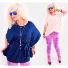 D1441 Elegant Oversize Tunic, with Necklace