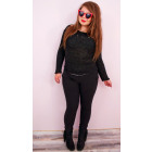 A19104 Women Stretch Trousers, Plus Size up 58