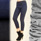 C17357 Leggings Jeans With insulation: Fur