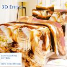 Bedding set, cotton, 200x230, 3 pieces, Z011