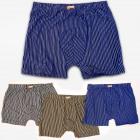 4786 Cotton Herren Boxershorts, 4XL-7XL, gestreift
