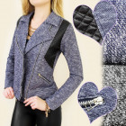 BI309 SPRING COAT, JACKET, RAMONESKA FASHION