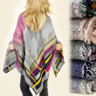 FL344 MEGA shawl cape, PLED, PONCHO