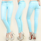 B16476 BEAUTIFUL PANTS JEANS, SLIM LINE, BELT