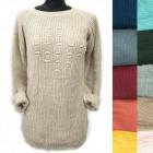 Klassischer loser Pullover für Frauen, Pearls, R12