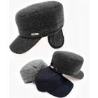 C1952 Mens Patrol Cap, hat, with EarMuffs