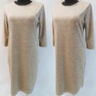 D4016 Dress, Made In Poland, 44-52, Beige