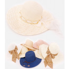 B10A72 Big Beach Hats, Summer, Mix Patterns