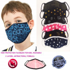 Kinderschutzmaske, Pattern Mix 4-10, D5821