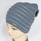 CZ14 Women& Warm Hat, Winter Cap, Silver Belts