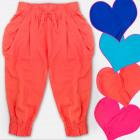 A19140 Girls Haremas Shorts, Pants, Pockets 4-12
