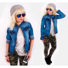 BI717 Spring Ladies Jacket, Jeans, Ramones
