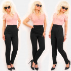 EM99 Women Suit with Lace. Fashionable Celebrity